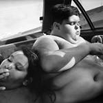 ragazzi obesi