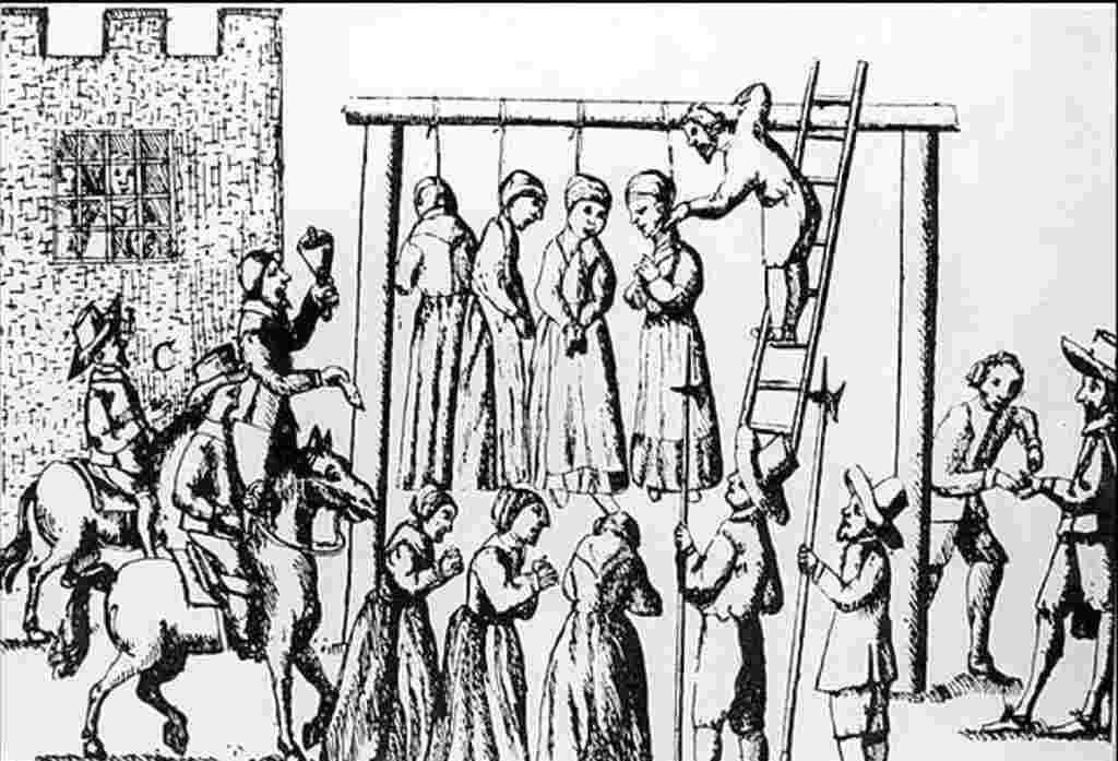impiccagione di streghe