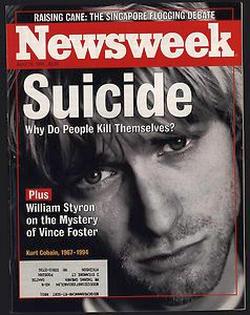 kurt cobain suicidio