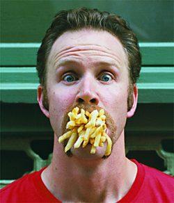 mangia cibo spazzatura