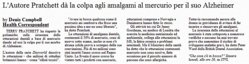 denuncia amalgami pratchett italiano