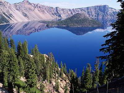 Lago del cratere klamath