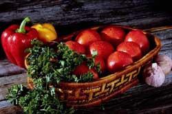 cesto verdura