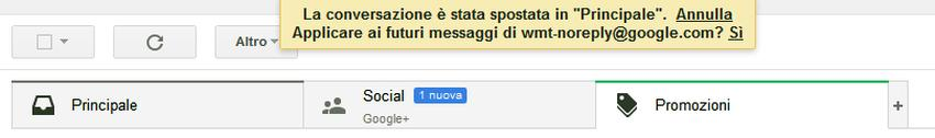 cartelle gmail