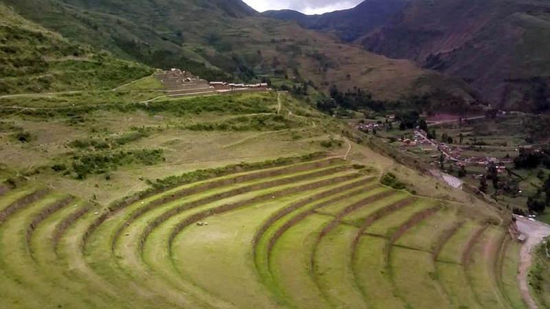 Terrazze di Pisac nella Valla Sacra