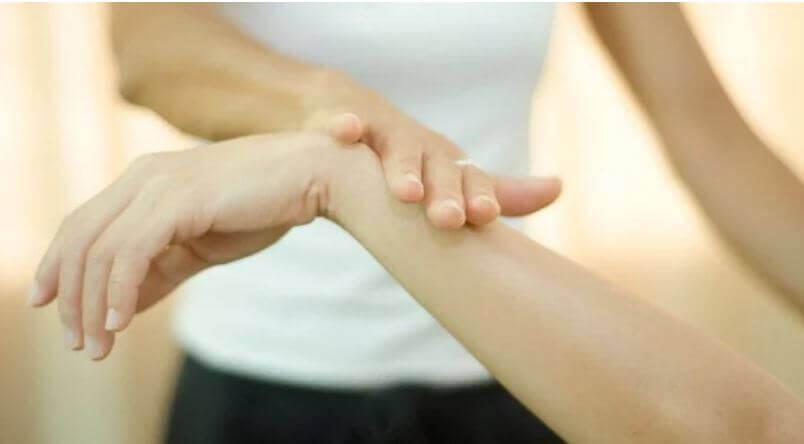 test del braccio